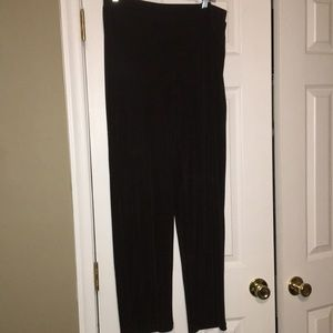 Chico's Travlers Brown Pants Size 2